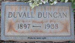 Duvall Duncan