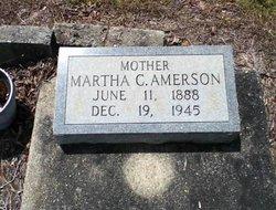 Martha Creola <I>King</I> Amerson