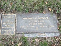 Hedwig G Munsell