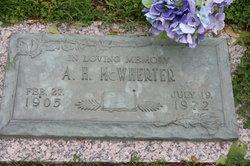 Almus H McWherter