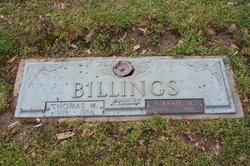 Carrie M Billings