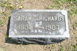 Sarah C <I>Wesner</I> Richards