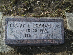 Gustave E Bormann, Jr