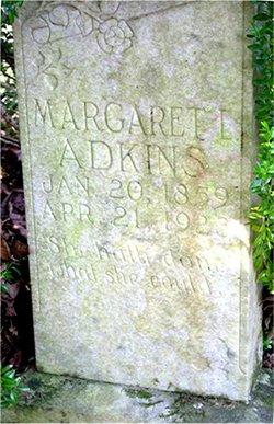 Margaret Louise <I>Lucas</I> Adkins