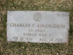 Charles F Ainsworth