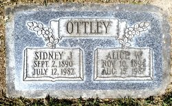 Sidney James Ottley