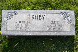 Harold Mitchell Roby