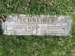 Sophia <I>Friedrichs</I> Schneider