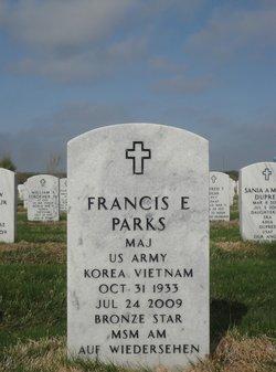 Francis E Parks