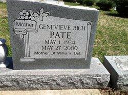 Genevieve <I>Rich</I> Pate