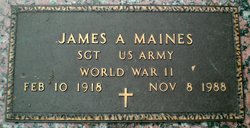 James A. Maines