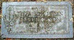Eliza Helen Fredrickson