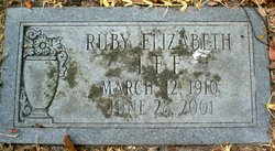 Ruby Elizabeth Lee
