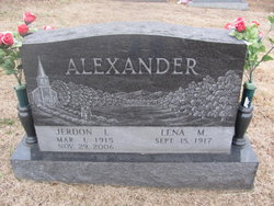 Jerdon Levi Alexander