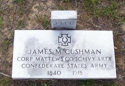 """James Marion """"jay"""" Cushman"""