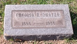 Cecilia K. <I>Klinginsmith</I> Shafer