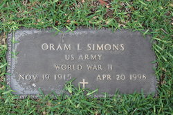 Oram L Simons