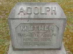 Elizabeth <I>Saller</I> Adolph