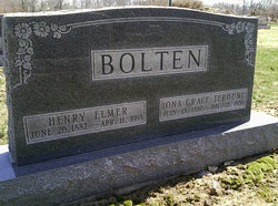 Iona Grace <I>Terhune</I> Bolten