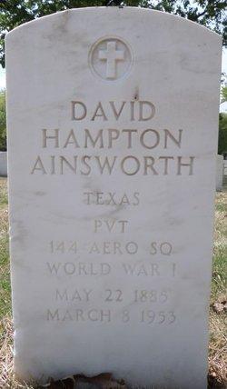 David Hampton Ainsworth