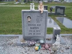 Rhonda Rae <I>Kilpatrick</I> Barton