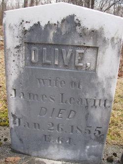 Olive <I>Wentworth</I> Leavitt