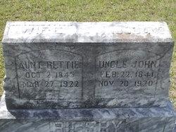 """Sarah Elizabeth """"Bettie"""" <I>Camp</I> Rigsby"""