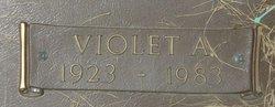 Violet A. <I>Woltz</I> Woodside