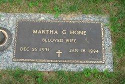 Martha G. Hone