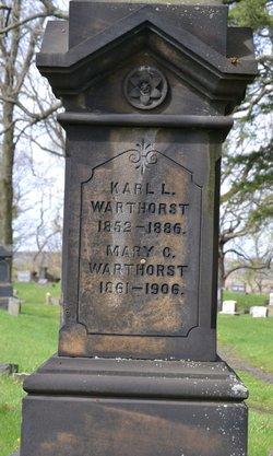 Mary C <I>Willenberg</I> Warthorst