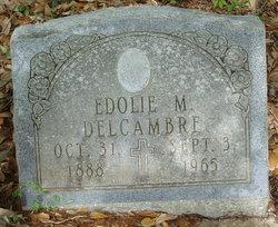 Edolie <I>Mennard</I> Delcambre