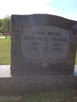 Monnie Lucille <I>Wilcox</I> Thomas
