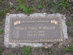 Homer Ethel McMullen