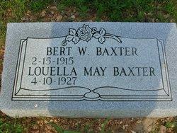 Louella May <I>Honstead</I> Baxter
