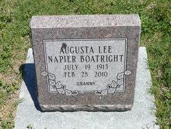 """Augusta Lee """"Granny"""" <I>Harlow</I> Boatright"""