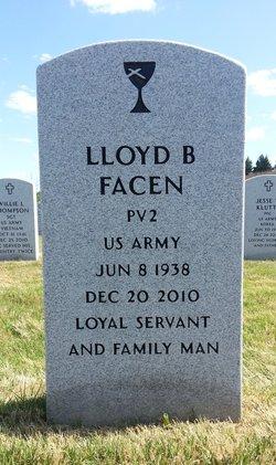 Lloyd B Facen