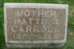 Hattie S <I>Pitchford</I> Carroll