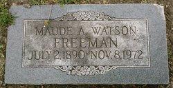 Maude Adaline <I>Caspari</I> Freeman