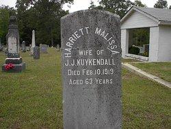 Harriet Malissa <I>Snyder</I> Kuykendall