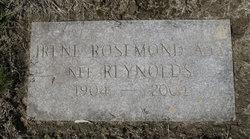 Irene Rosamond <I>Reynolds</I> Aja