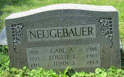 Sgt John Joseph Neugebauer