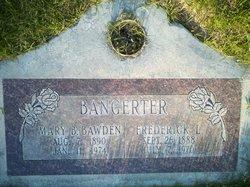 Mary Bathsheba <I>Bawden</I> Bangerter