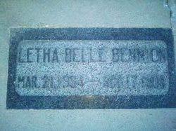 Letha Belle Bennion