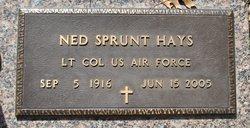 LTC Ned Sprunt Hays