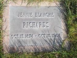 Jennie Blanche <I>Crowder</I> Richards