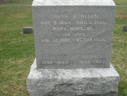 Mary <I>Winslow</I> Allen