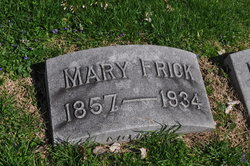 Mary <I>McNeely</I> Frick