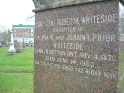 Ernestine Roberta Prior Whiteside