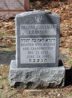 Helene <I>Goldberg</I> Chanson