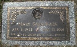 Mary <I>Cadiz</I> Sagadraca